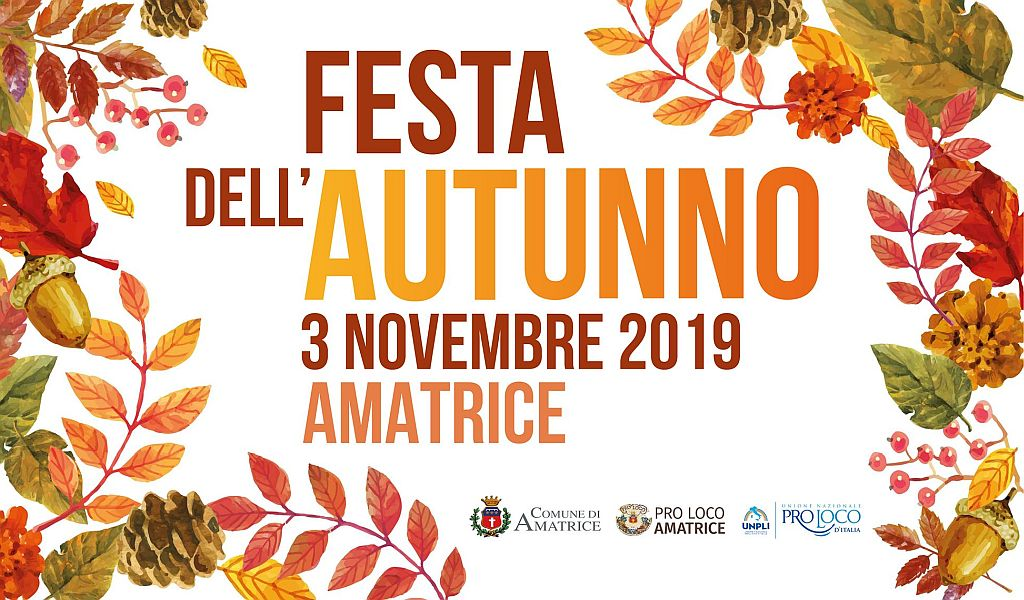 Festa dell'Autunno Amatrice 2019