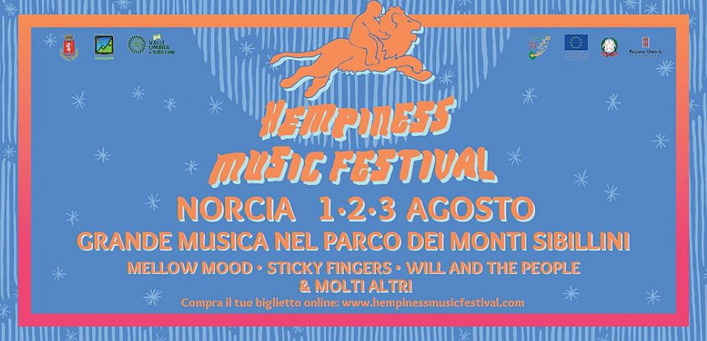 Hempiness Music Festival Norcia 2019