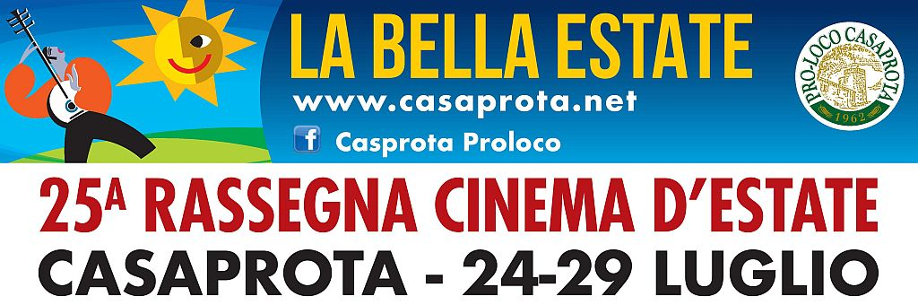 Rassegna Cinema d'Estate Casaprota 2018
