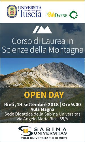Open Day Sabina Universitas Rieti 2018